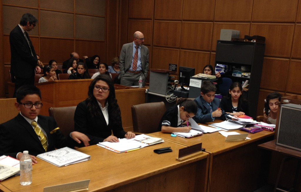 """ASA's 2013 CRF Mock Trial team (partial) """"ready for trial."""""""