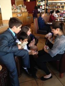 2013 team at coffee bean pretrial