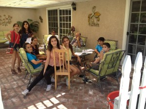 2014 prep session at babachanian's home